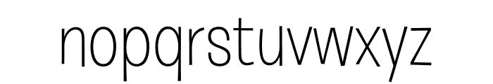 Burbank Big Regular Light Font LOWERCASE