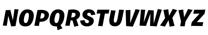Burbank Small Light Font UPPERCASE