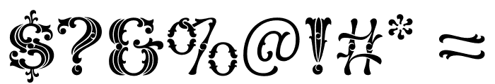 Carlyle Quaint Regular Font OTHER CHARS