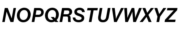 Chalet Book Regular Bold Italic Font UPPERCASE