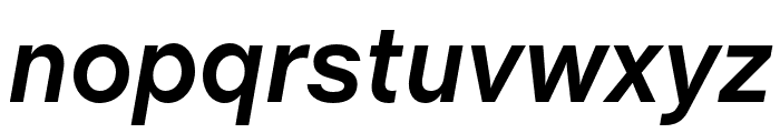 Chalet Book Regular Bold Italic Font LOWERCASE