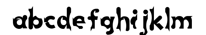 Chophouse Font LOWERCASE