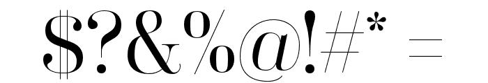 Coryn Didot Font OTHER CHARS