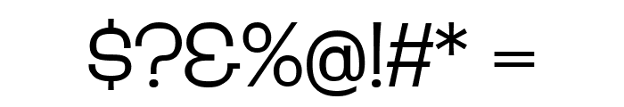 D'Amico Gothic Extended Thin Regular Font OTHER CHARS