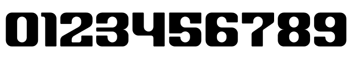 House 3009 Spaceage Heavy Round Font OTHER CHARS