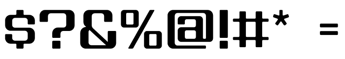 House 3009 Spaceage Light Alpha Bold Font OTHER CHARS