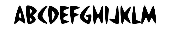 Housearama Strike Font LOWERCASE