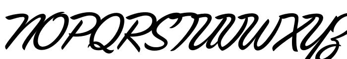 Las Vegas Fonts Fabulous Font UPPERCASE