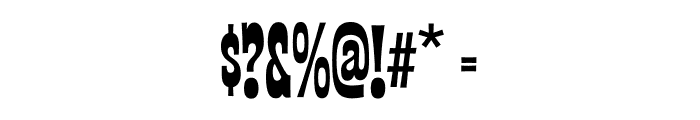Las Vegas Fonts Nugget Font OTHER CHARS