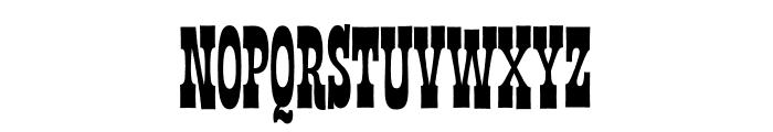 Las Vegas Fonts Nugget Font UPPERCASE