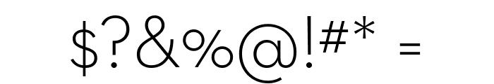 Neutraface Text Light Regular Font OTHER CHARS