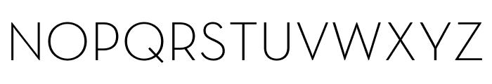 Neutraface Text Light Regular Font UPPERCASE