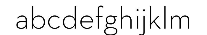 Neutraface Text Light Regular Font LOWERCASE