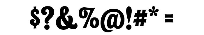 Shag Exotica Font OTHER CHARS