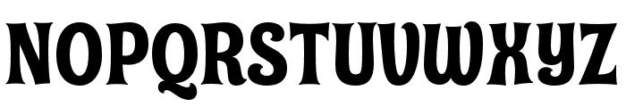 Shag Exotica Font UPPERCASE