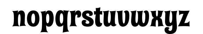 Shag Exotica Font LOWERCASE