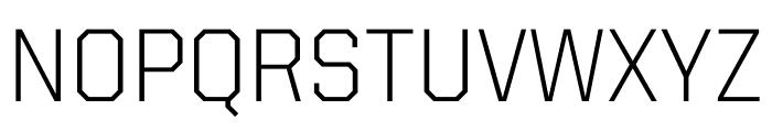 United Sans Regular Thin Regular Font UPPERCASE