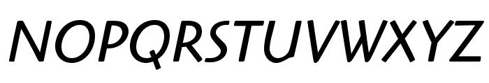 HighlanderStd-BookItalic Font UPPERCASE
