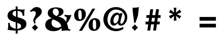 HiroshigeStd-Black Font OTHER CHARS