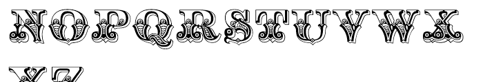 Hickory Regular Font UPPERCASE