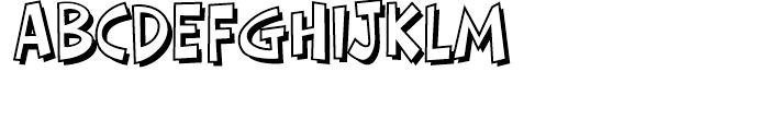 HighJinkies Open Regular Font UPPERCASE