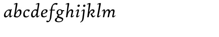 Hightower Text Italic MST Font LOWERCASE