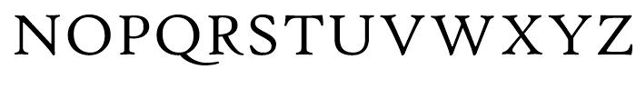 Hightower Text Roman MST Font UPPERCASE