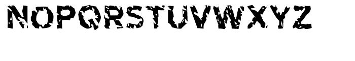 Highway To Heck Regular Font UPPERCASE