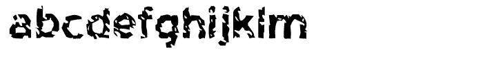 Highway To Heck Regular Font LOWERCASE