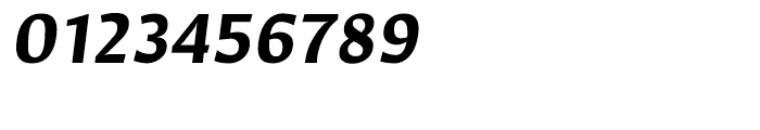 Hildegard Bold Italic Font OTHER CHARS