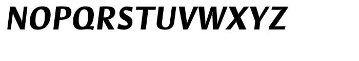 Hildegard Bold Italic Font UPPERCASE