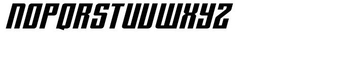 Hip Flask Italic Font UPPERCASE