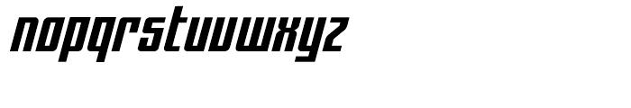 Hip Flask Italic Font LOWERCASE