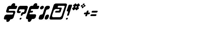 Hiro Italic Font OTHER CHARS