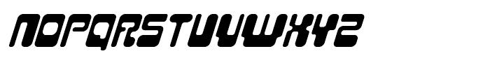 Hiro Italic Font UPPERCASE