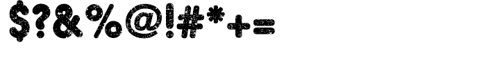 Hiroko Regular Font OTHER CHARS