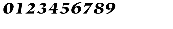 Hiroshige Black Italic Font OTHER CHARS