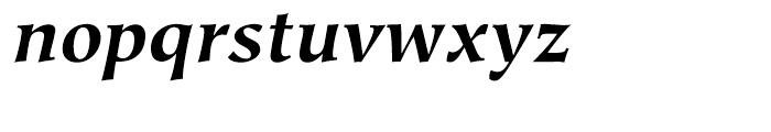 Hiroshige Bold Italic Font LOWERCASE