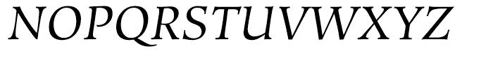 Hiroshige Book Italic Font UPPERCASE