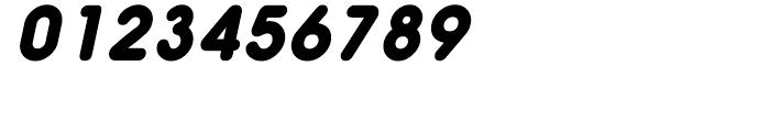 Hiruko Black Oblique Font OTHER CHARS