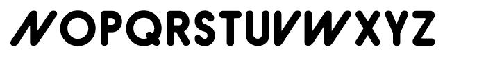 Hiruko Pro Bold Alternate Font UPPERCASE