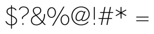 Hilton Sans Regular Font OTHER CHARS