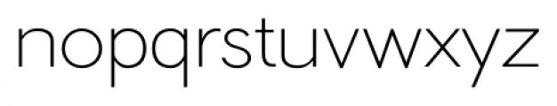 Hilton Sans Regular Font LOWERCASE