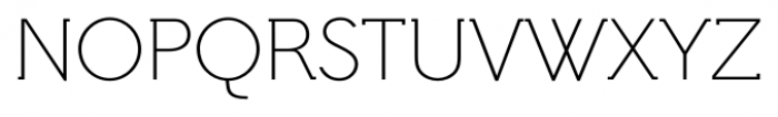 Hilton Serif Regular Font UPPERCASE