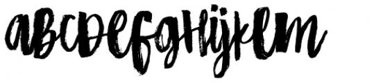 HiBaby Regular Font UPPERCASE