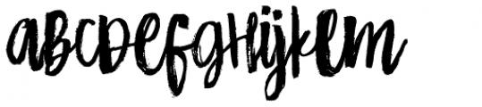 HiBaby Regular Font LOWERCASE