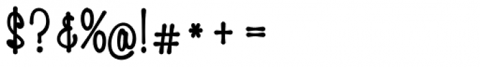 HiTone Narrow Black Font OTHER CHARS