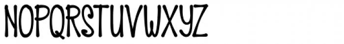 HiTone Narrow Black Font UPPERCASE