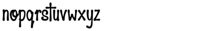 HiTone Narrow Black Font LOWERCASE