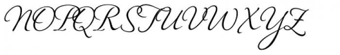 Hiatus Font UPPERCASE